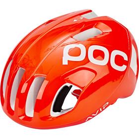 POC Ventral Spin Casco, arancione